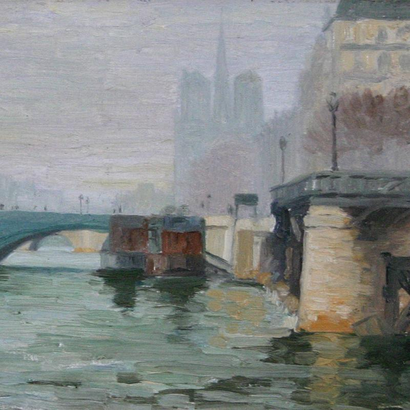 View Along the Seine