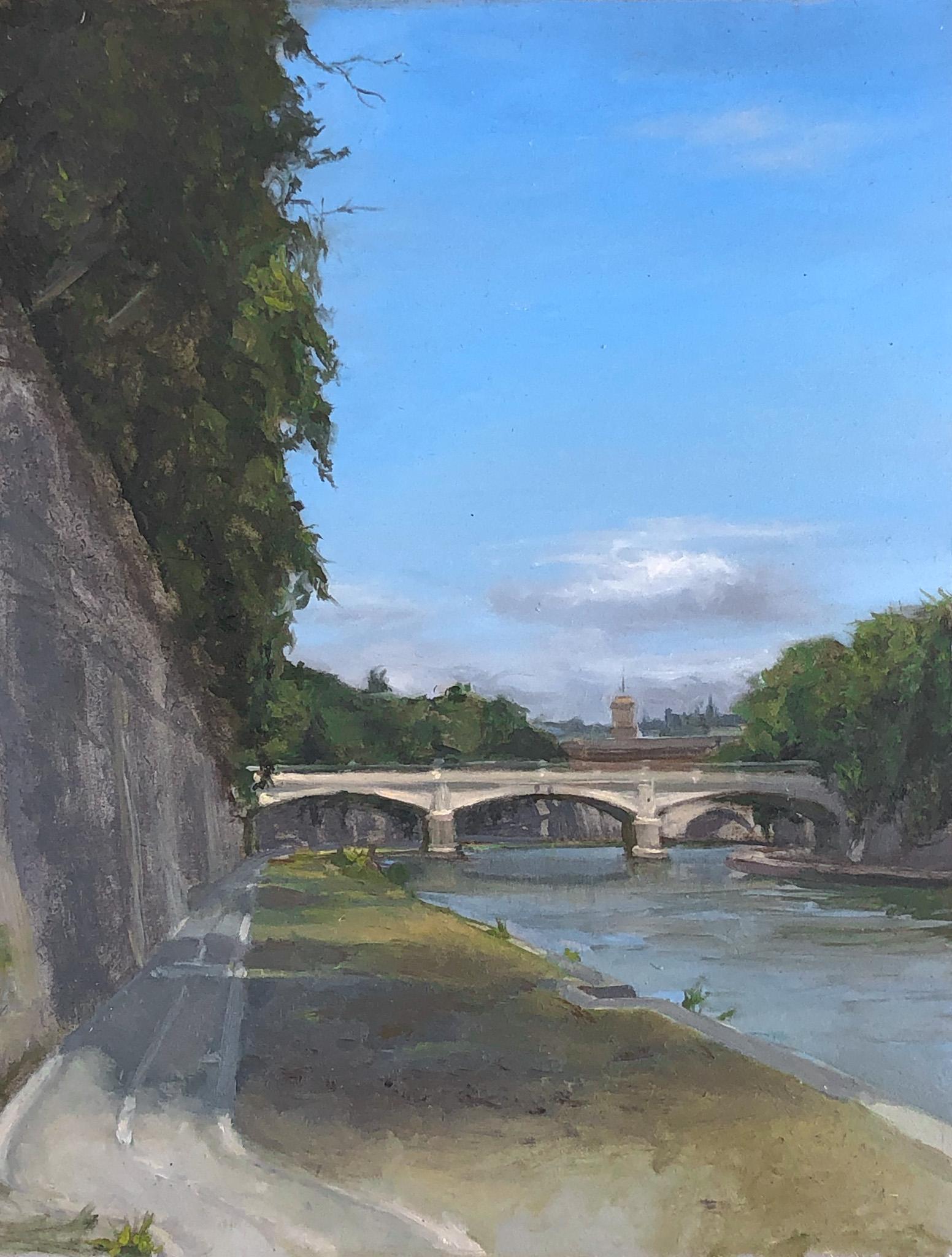 Ponte Sisto Bridge in Rome